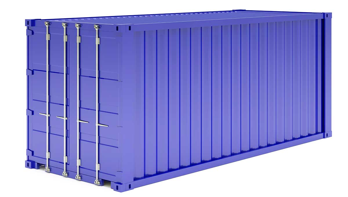 Tripp removals containerised metal storage containers