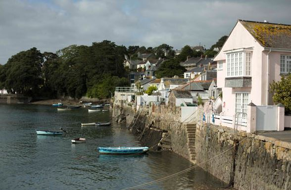 Waterside homes in Falmouth