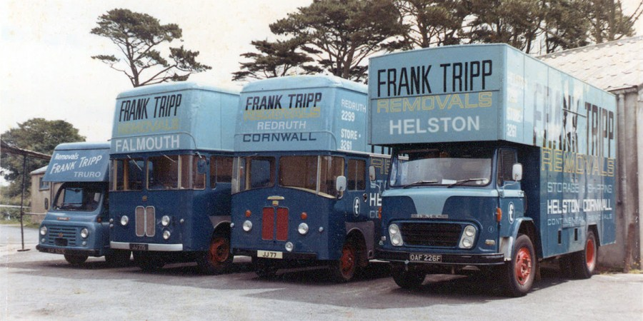 the vintage Tripp fleet