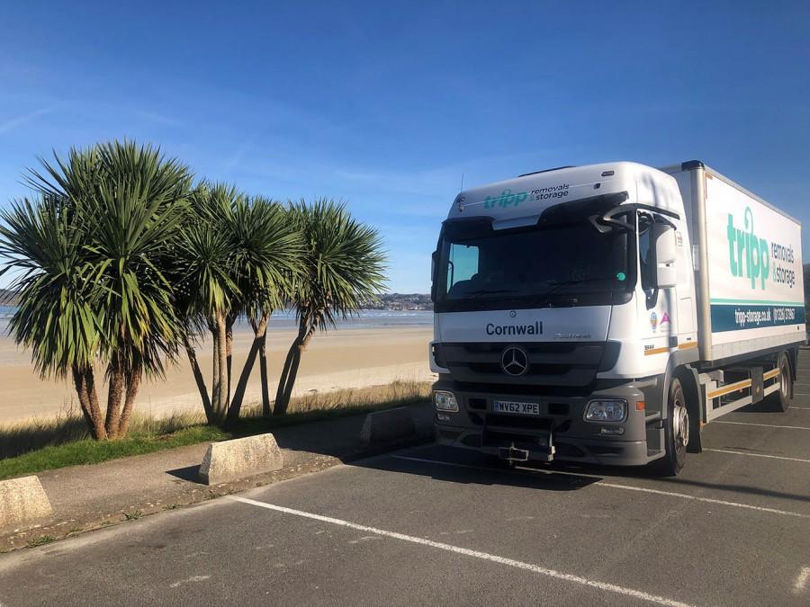 Tripp truck in France